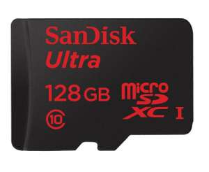 Sandisk Ultra microSDXC 128GB Class 10 UHS-I Card inkl. Adapter für 35,90 € [iBOOD]