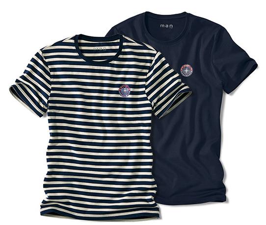 4 T-Shirts für Herren für 20,40€ versandkostenfrei bei [Tchibo]