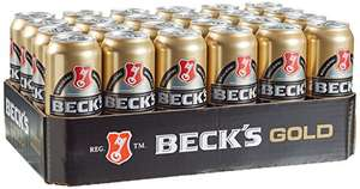 24x 0,5l Beck's Pils, Gold & Green Lemon für je 14,99€ + 6€ Pfand @Amazon Primedeals