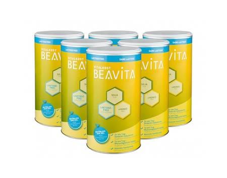 6x 500 g BEAVITA Vitalkost als laktosefreies Slimming-Pulver, zum Gewicht reduzieren, Stoffwechsel aktivieren, Muskeln erhalten @ 22,95 Euro inkl. Versand