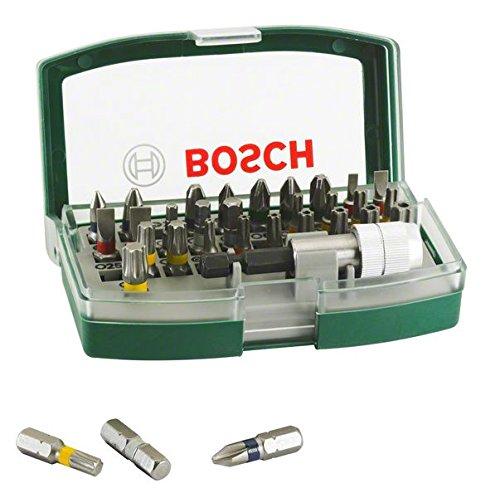 Bosch DIY 32tlg. Schrauberbit-Set mit Farbcodierung und Universalhalter für 7,99 € @ amazon Prime