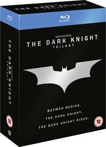Batman: The Dark Knight Trilogie (Blu-ray Box) bei Zavvi für 12,64€