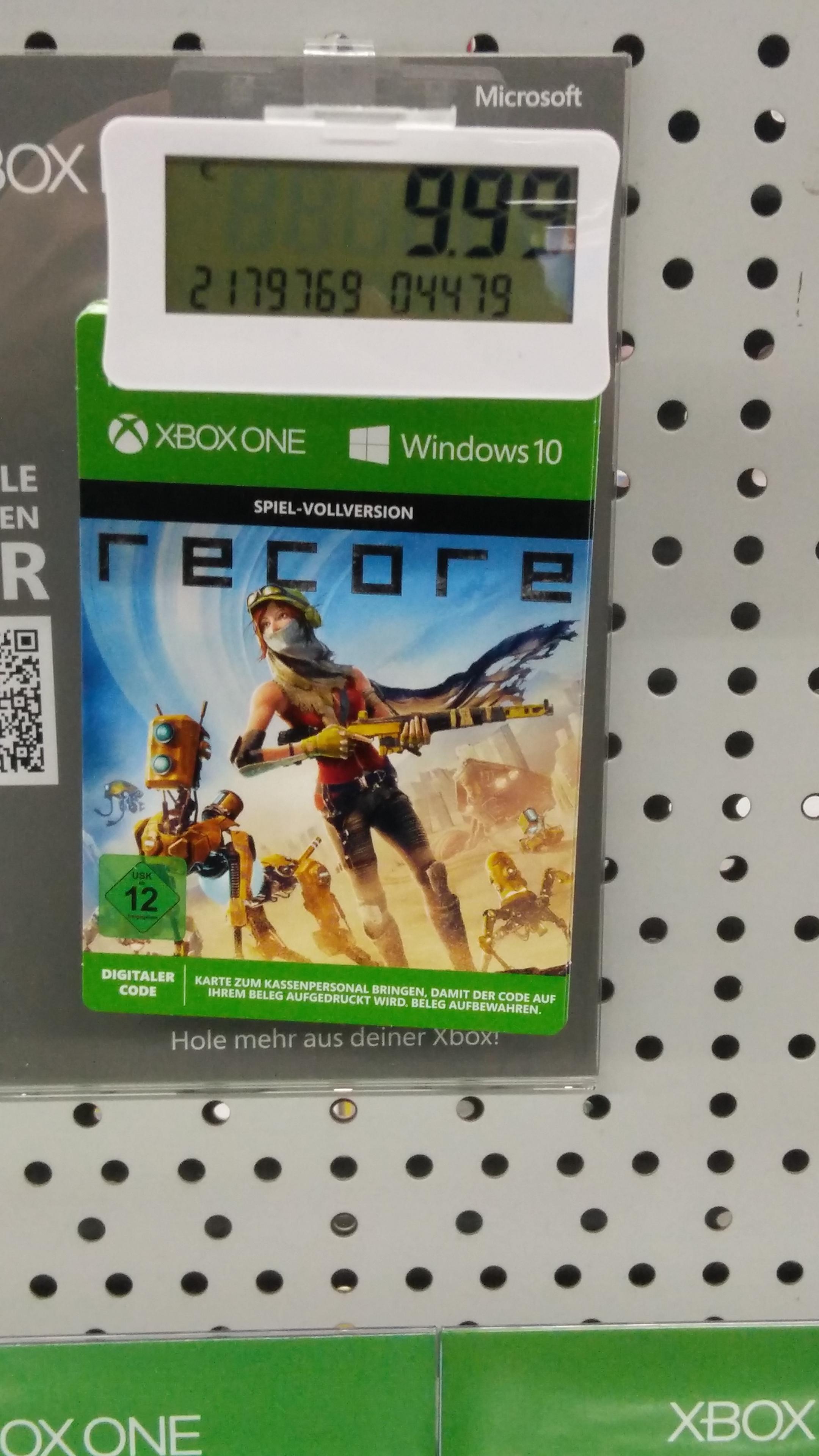 Recore Digital Xbox One & PC Media Markt Bochum hofstede