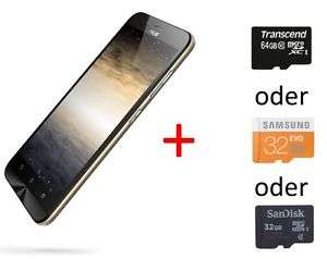 "Asus ZenFone Max Smartphone 14cm 5,5""  mit HDready 32GB / 2GB RAM / 32GB   + SD Speicherkarte @ eBay  inkl VSK für 179,99€"