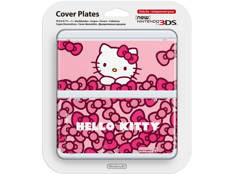 SATURN - Zierblenden Cover für New 3DS *Hello Kitty* und *Streifen* je 2,99€ - Pokemon 4,99€ - versandkostenfrei