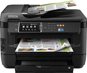 Epson WorkForce WF-7620DTWF 4-in-1 Multifunktionsdrucker A3 mit 2 Papierfächern für 174€ [Amazon]