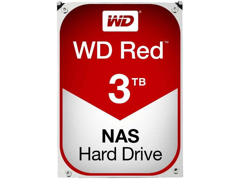 WD Red 3TB, 3.5 Zoll, NAS Festplatte - Tiefpreisspätschicht (bis morgen 9 Uhr) [Media Markt Online/ MM Online]