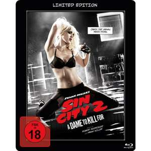 (Müller) Sin City 2: A Dame to Kill For (Lenticular Steelbook) (Blu-ray) für 4,99€