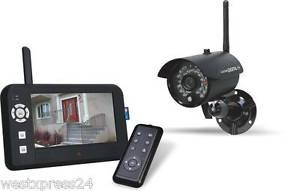 [Ebay] Elro Digitale Funk - Überwachungskamera CS95DVR mit Aufzeichnungsfunktion, 4-Kanal