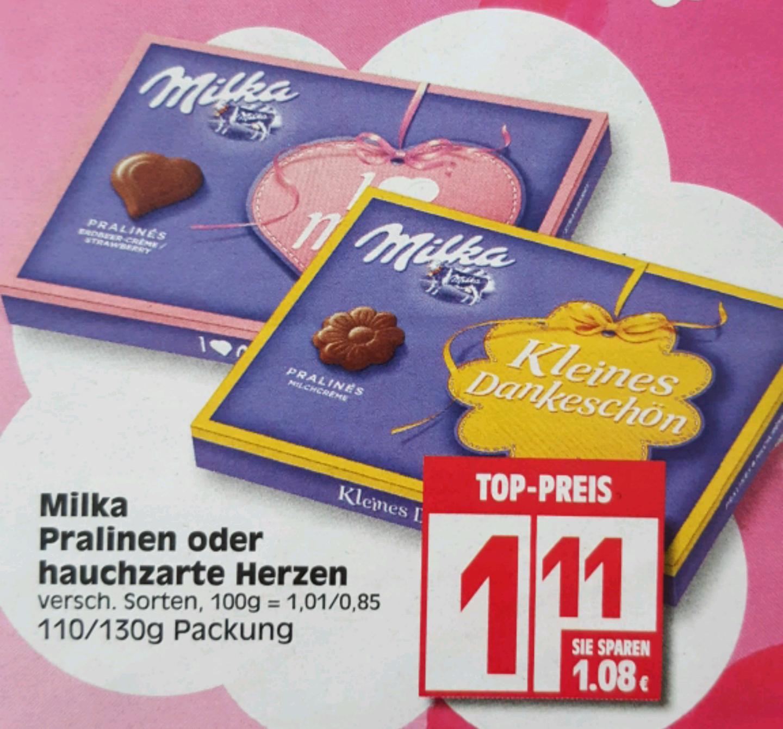 [EDEKA] Milka Pralinen / Hauchzarte Herzen (lokal/bundesweit?)