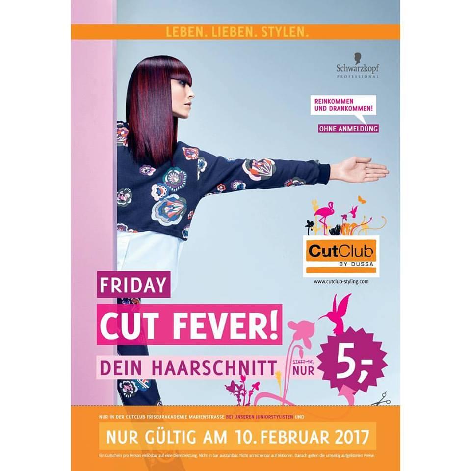 CutClub Styling Akademie Hannover Marienstr. - 5 Euro - 10.02.17 (Freitag)