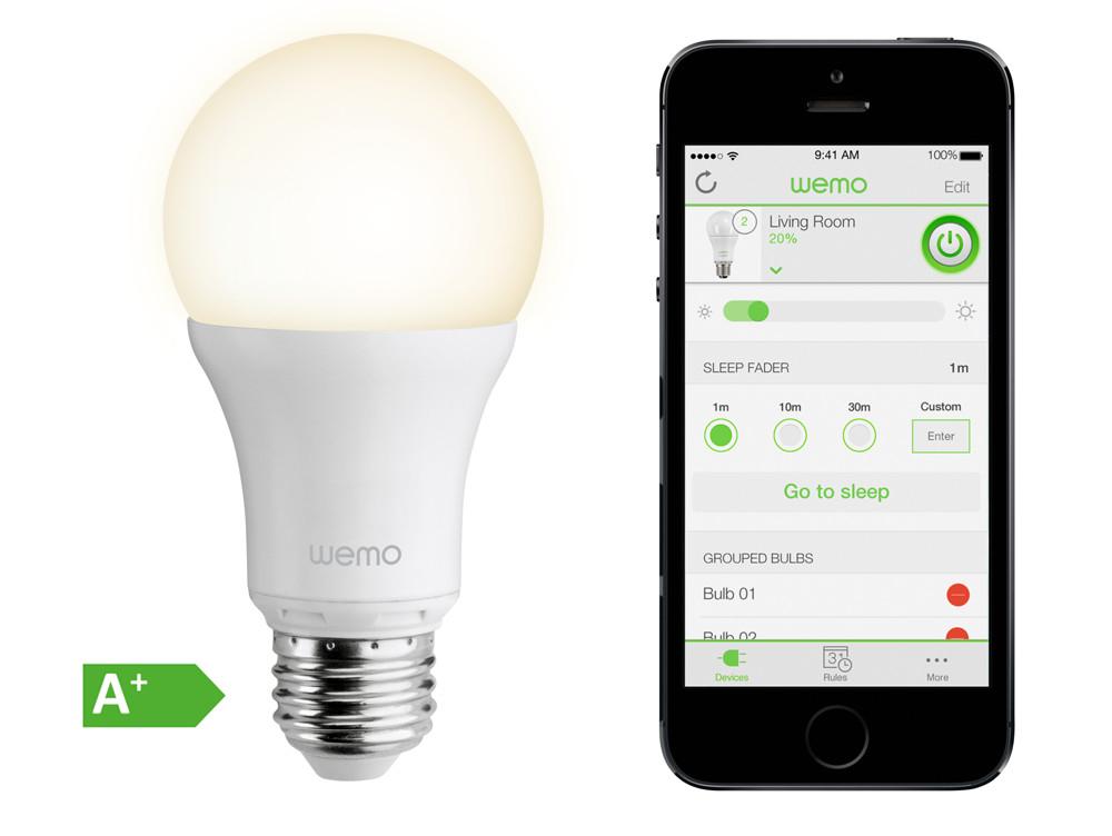 Belkin WeMo Led Smartlight E27 für 15,99€ (Gravis Filiale)