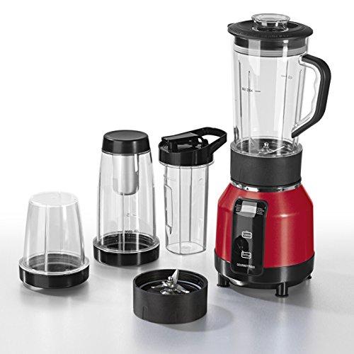 Preisfehler - Nutrition Mixer Pro, Standmixer für heiße und kalte Speisen, 12 -teiliges Set inklusive Rezeptheft, 1200 W