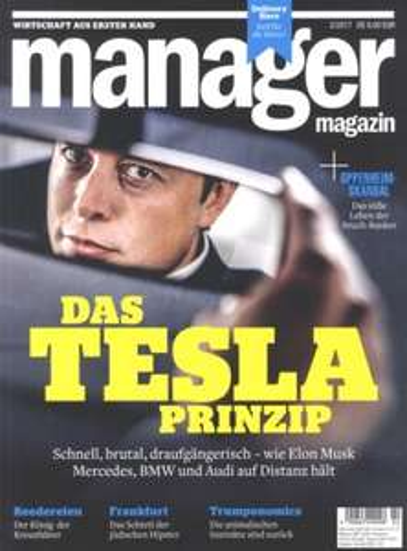 manager magazin - 4 Ausgaben mit 25€ Amazon-Gutschein