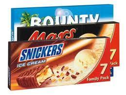 [Offline] Lidl - Snickers, Bounty und Mars Ice Cream (nur am 23.06.)