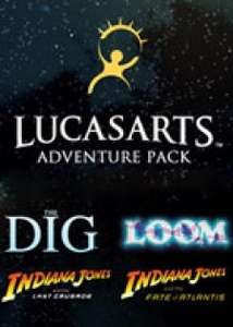 LucasArts Adventure Pack (Indiana Jones: Fate of Atlantis + Last Crusade + Loom + The Dig) (Steam) für 2,95€ [Gamesrocket]
