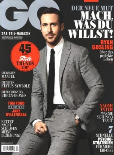 GQ Magazin - 4 Ausgaben mit 15€ Amazon-Gutschein