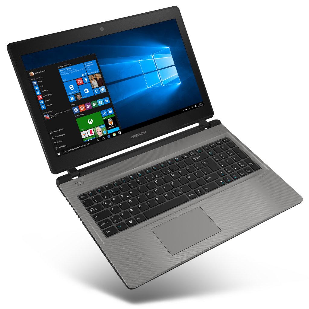 """Medion Akoya E6431 (MD 60109) für 599€ @ Medion - 15,6"""" FullHD Notebook mit Core i5-6267U, 6GB Ram, 1,5TB HDD und 128GB SSD"""