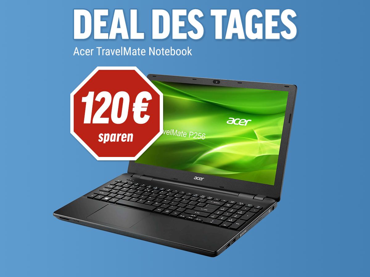 [NBB] Acer TravelMate P256-M-53H6 im heutigen Deal des Tages