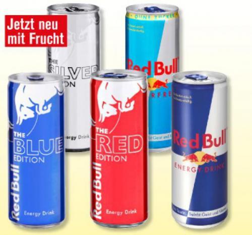 [Lebensmittel] Red Bull versch. Sorten | Penny | 0,69 EUR