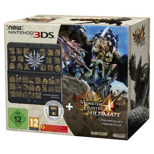 [Österreich 149,- bei Abholung] New Nintendo 3DS - Monster Hunter 4 Ultimate Edition + Game für 162,40 € inkl. Lieferung nach DE