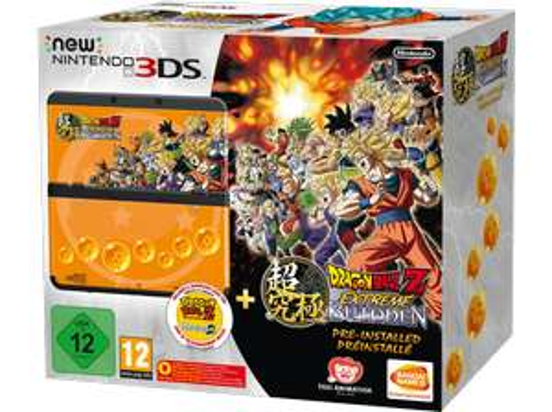 NINTENDO New Nintendo 3DS schwarz inkl. Dragon Ball Z: Extreme Butoden für 129,99€ Versandkostenfrei [Saturn Weekend Deals]