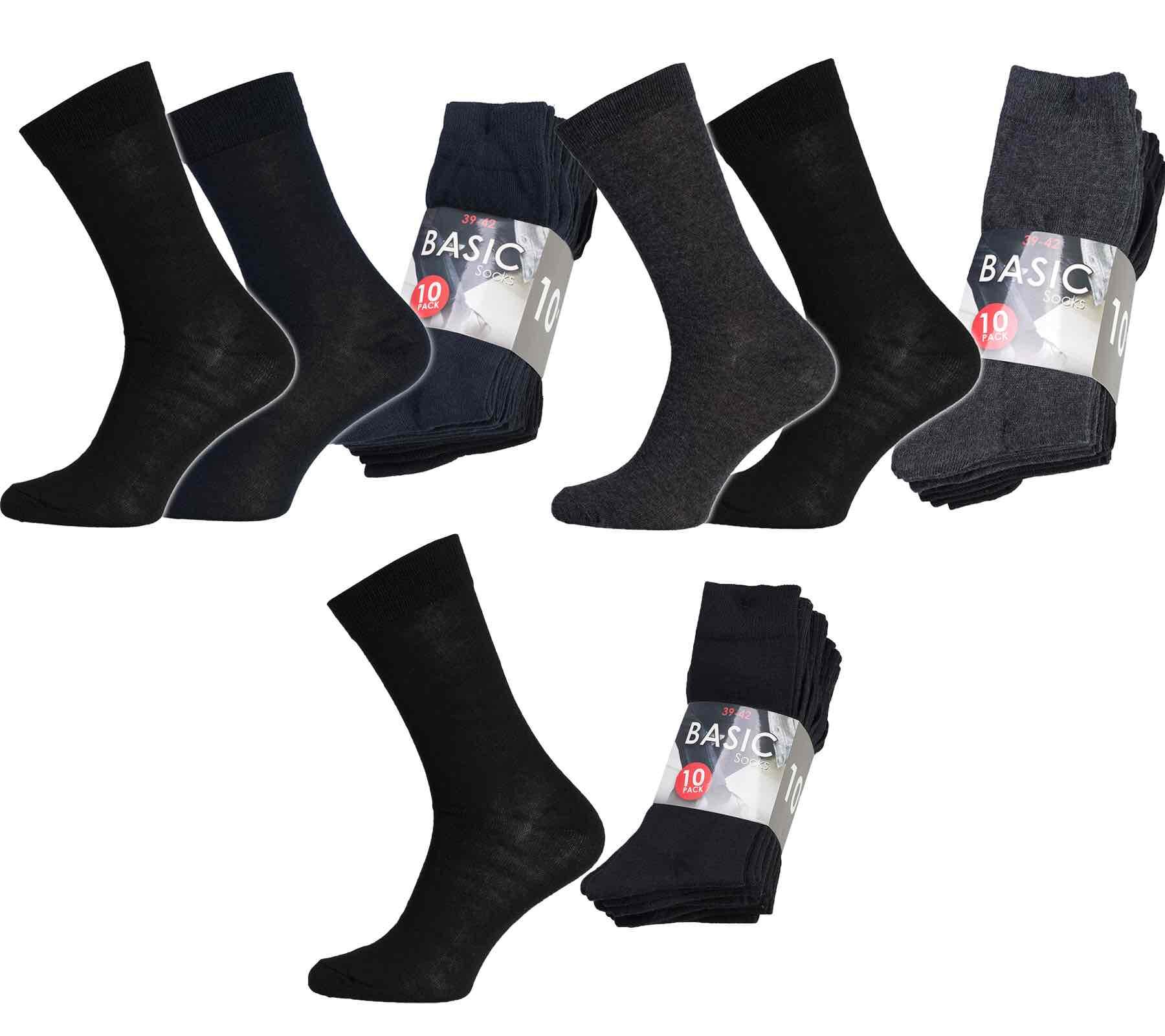 10 Paar Basic Socken für 4,99€ inklusive Versand