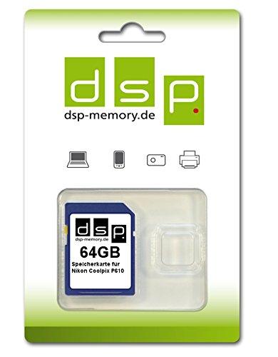 PVG 29,90 €   - 64GB  - Speicherkarte für Nikon COOLPIX P610  WHD