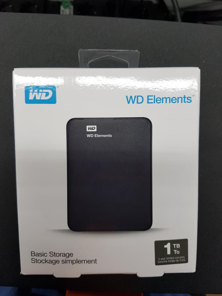 Western Digital Elements externe Festplatte 2,5 Zoll 1 TB