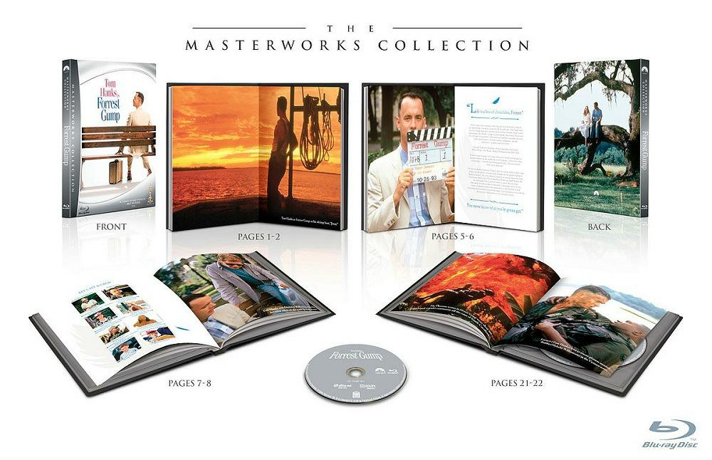Forrest Gump (Digibook) [Blu-ray] bei amazon.de für 6,97€
