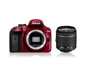 Nikon D3400 + 18-55mm VR - Red