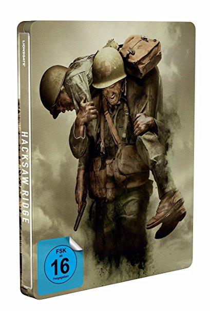 VORBESTELLUNG: Hacksaw Ridge – Die Entscheidung (Exklusiv Amazon Steelbook)