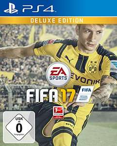 FIFA 17 - Deluxe Edition (exkl. bei Amazon.de) - [PlayStation 4] für 32€ @Amazon.de