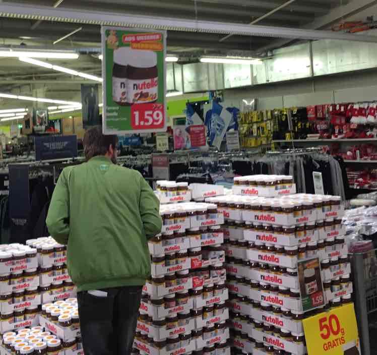 Nutella 450g +50g (Marktkauf Meppen)