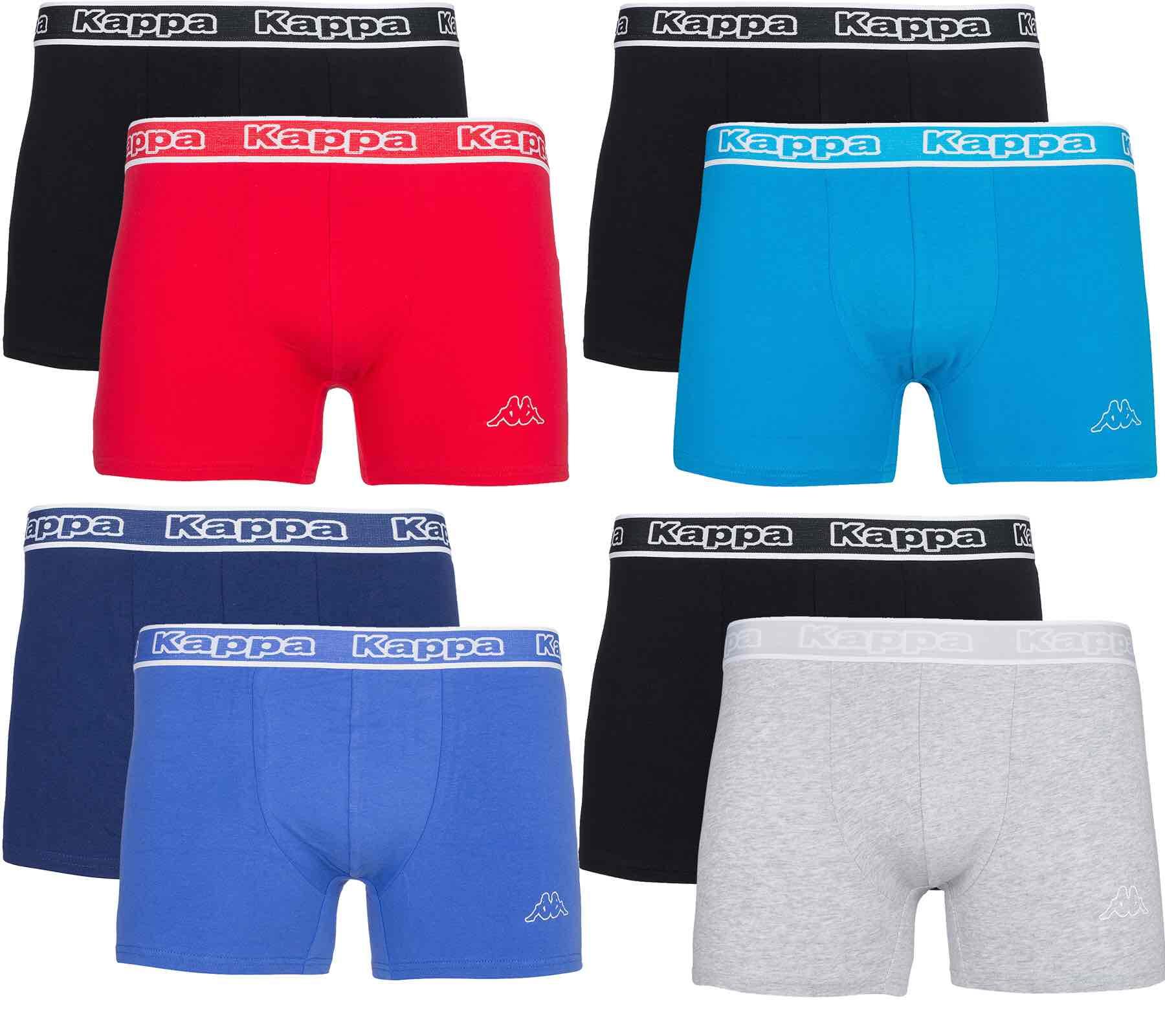outlet46: 6er Pack Kappa Herren Boxershorts für 19,99€ inklusive Versand
