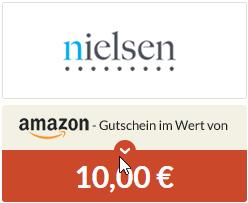 Kostenloser 10€ Amazon Gutschein durch 3 Tage Nielsen Digital Voice [Spartanien]