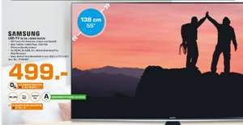 [Lokal Saturn Krefeld] SAMSUNG UE55J6289, 138 cm (55 Zoll), Full-HD, LED TV, 700 PQI, DVB-T, DVB-T2 (H.265), DVB-C, DVB-S, DVB-S2,A+, LCD / LED-TVs für 499,-€