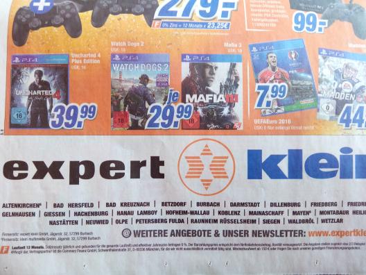 Watch Dogs 2 für PS4 bei Expert Klein für 29,99€