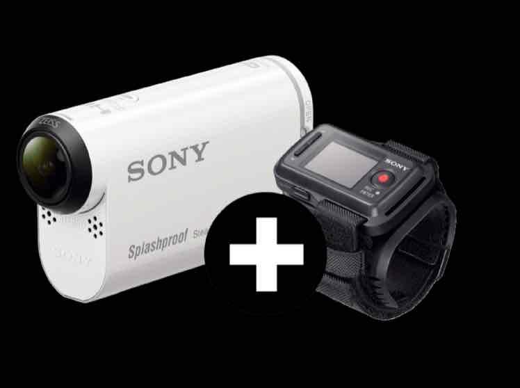 Mediamarkt: Actionkamera Sony HDR-AS200 Remote Edition für 199,99€