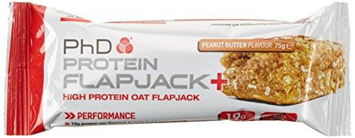 PHD Protein Flapjack - Peanut Butter (12 Riegel)