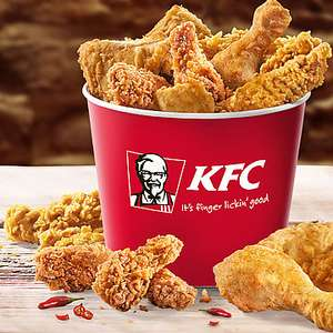 KFC - Final Bucket - 51 Hot Wings - 28 € - Super Bowl Angebot