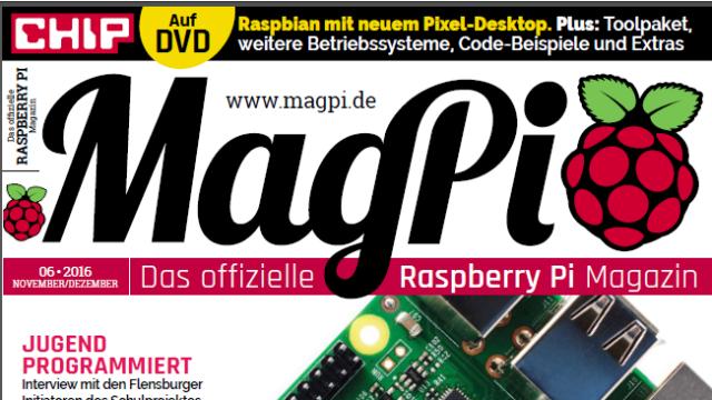 Raspberry Pi Magazin MagPi Sonderheft Ausgaben 05 & 06/16 kostenlos [pdf]