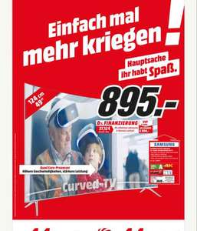 Samsung 49ks7590 [MediaMarkt Amberg]