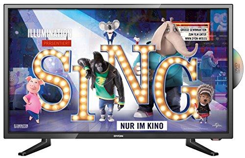 Dyon Sigma 24 Pro 60 cm (23,6 Zoll) Full-HD-TV/DVD-Kombi (Triple Tuner, DVB-T2 H.265/HEVC) für 129,99 € @ amazon