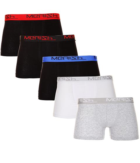 MERISH Boxershorts 10er Herren Set Retroshorts Mix Boxer S-XXL Unterwäsche 212b für 19,90€ @ebay.de (Merish-Store)