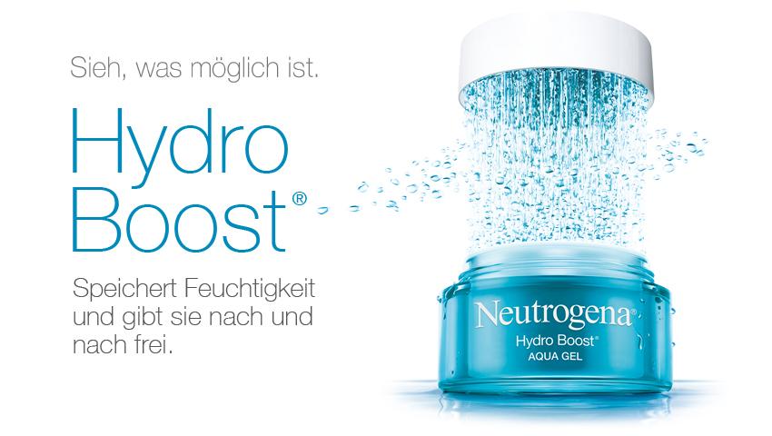 Neutrogena Hydro Boost Feuchtigkeitspflege gratis testen