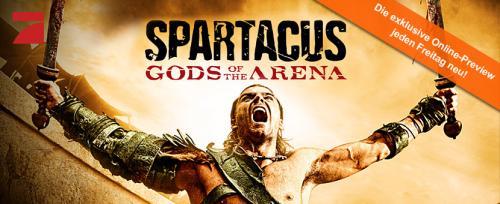 """Spartacus - Gods of the Arena"" kostenlos auf myvideo.de"