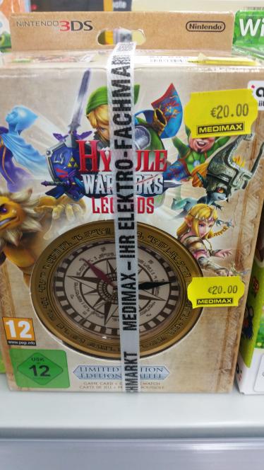 Hyrule Warriors Legends - Limited Edition [3DS Videospiel] LOKAL Mülheim an der Ruhr