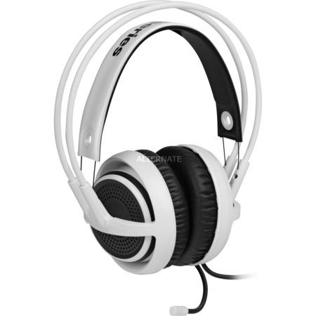 """SteelSeries Headset 7.1 Virtual Surround """"Siberia 350"""" in weiß für 91,85€ @ ZackZack"""