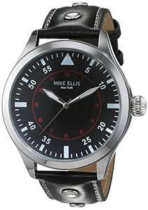 [Amazon] Mike Ellis New York Herren-Armbanduhr Desert Fox Analog Quarz Kunstleder SM4312